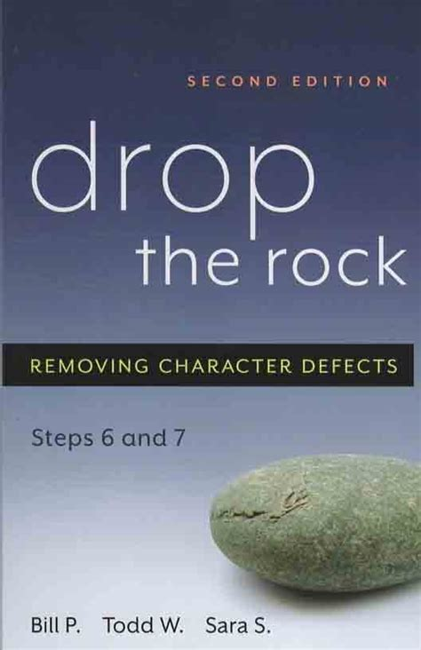Drop the Rock Second Addition   Addiction Recovery Book