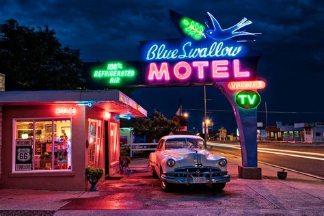 The Blue Swallow Motel | Tucumcari, NM along Route 66 | Flickr