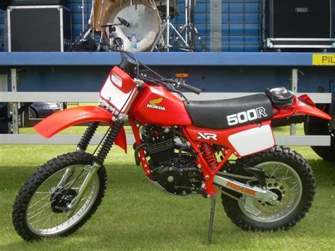 1982 Honda XR500R Classic Motorcycle Pictures