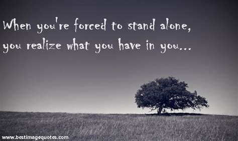 quote images strong woman | Quote: When you're forced to