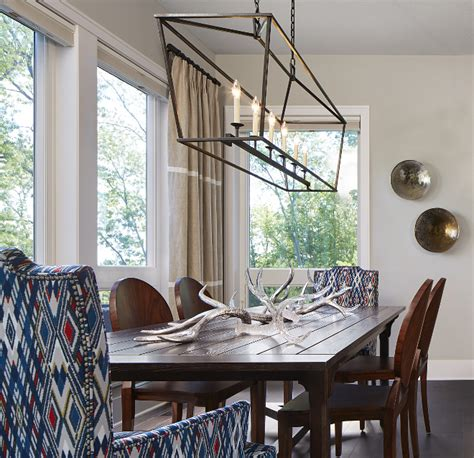 Transitional Blue & White Interiors - Home Bunch Interior
