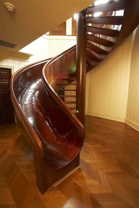 20 Sliding Staircase Designs for All Ages