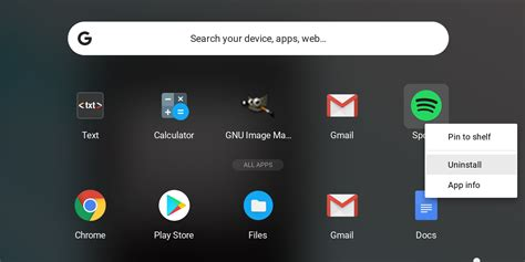 Chrome OS to help find new Linux apps from the Launcher