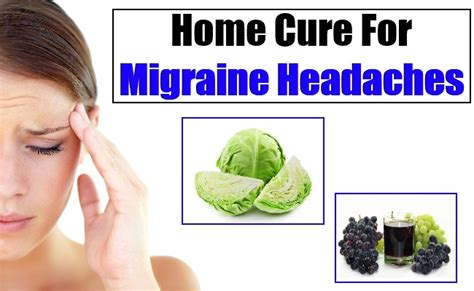 How To Cure Migraine Headache Naturally - Home Remedies