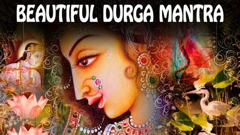 Beautiful DURGA mantra to REMOVE OBSTACLES & Enemies! ॐ