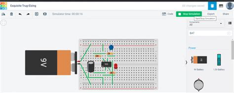 How to design and simulate circuits using Tinkercad