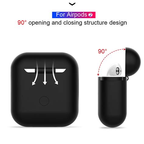 For Airpod 2 Silicone Case Protective Cover Earphone I9s