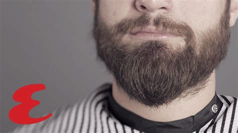 The Best Way To Trim Your Full Beard - YouTube