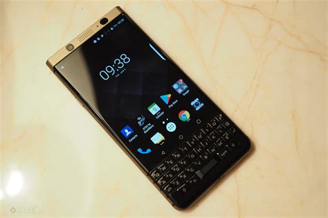 This is the BlackBerry KeyOne Bronze: A dual-SIM BB in a