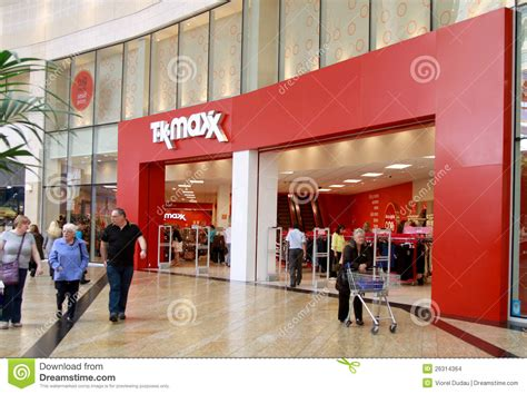 TK Maxx Shop In A Mall Editorial Stock Image - Image: 26314364
