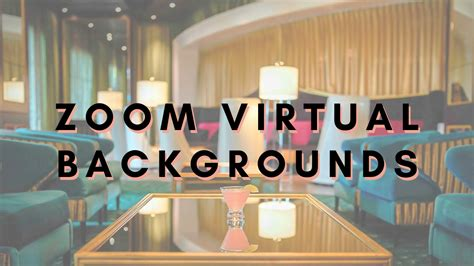 Zoom Virtual Backgrounds Graceland | The Guest House at