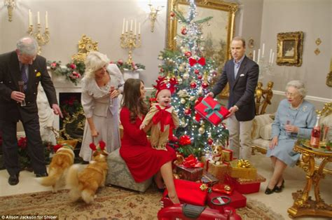 Prince George's first Christmas sees Prince Harry dressed