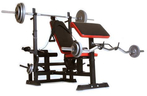 Gym Equipment Body Vision Weight Bench Barbell Stand 536