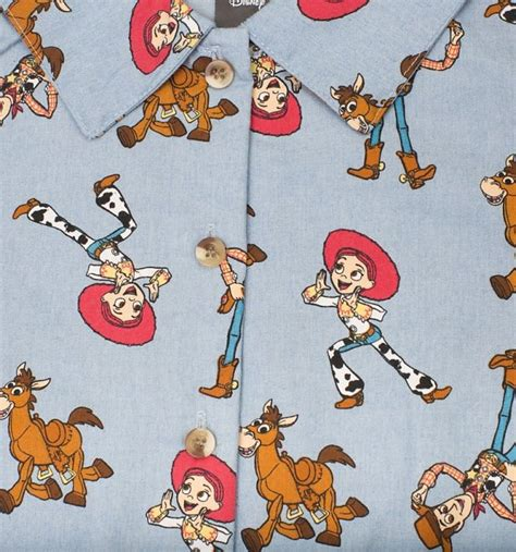 Women's Disney Pixar Woody's Round Up Button Up Dress from