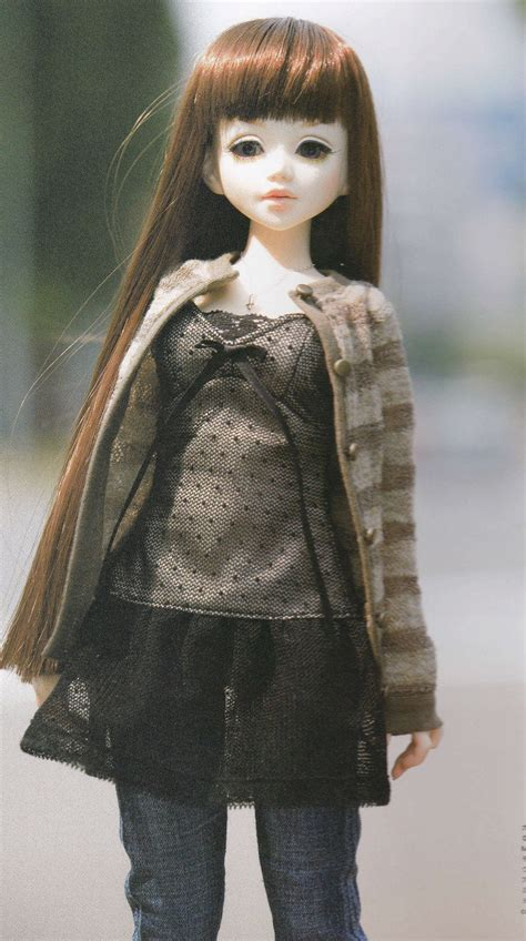 1/4 MSD BJD Doll Casual Chic Cardigan Tulle Tunic and Jeans
