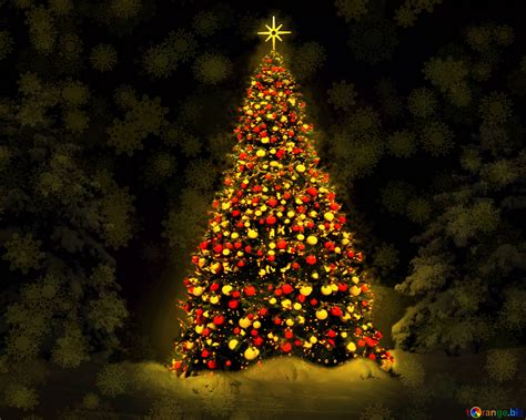 Download free picture Christmas tree lights on CC-BY