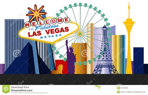clipart of las vegas - Clipground